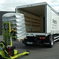 PIRETTI // Livraison pellets bois